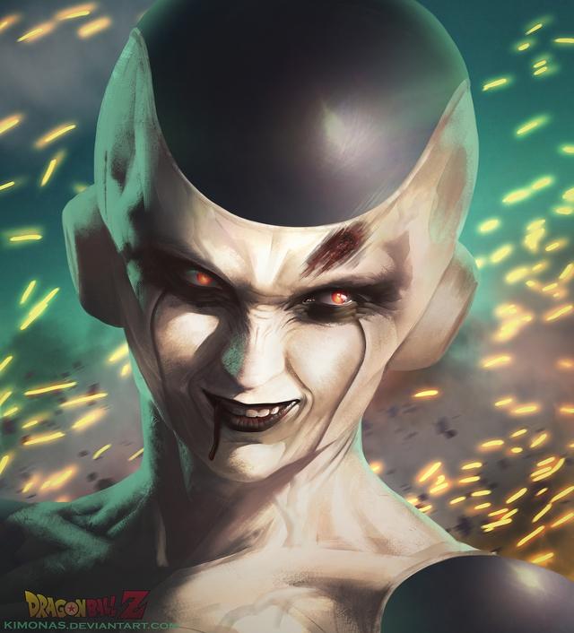 Dragon Ball: Hết hồn khi thấy ác nhân Frieza được vẽ theo phong cách kinh dị dọa nạt người xem - Ảnh 1.