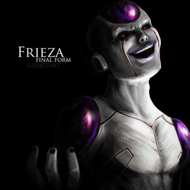Dragon Ball: Hết hồn khi thấy ác nhân Frieza được vẽ theo phong cách kinh dị dọa nạt người xem - Ảnh 11.