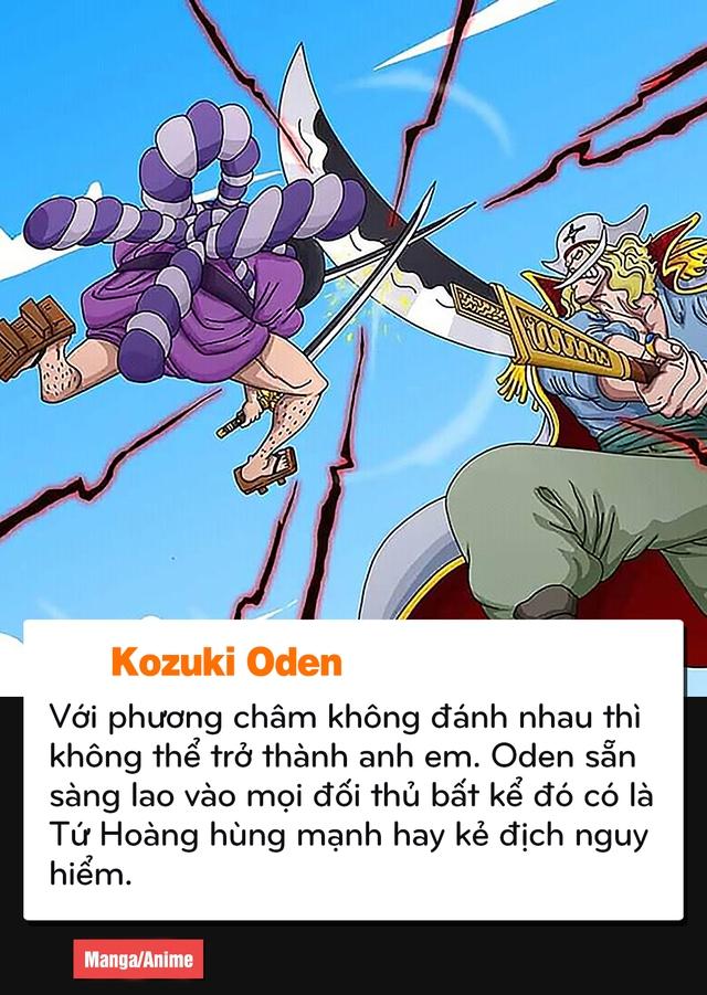 """Oden với Luffy, những điểm tương đồng của 2 """"Thánh Trẩu"""" nhất One Piece - Ảnh 4."""