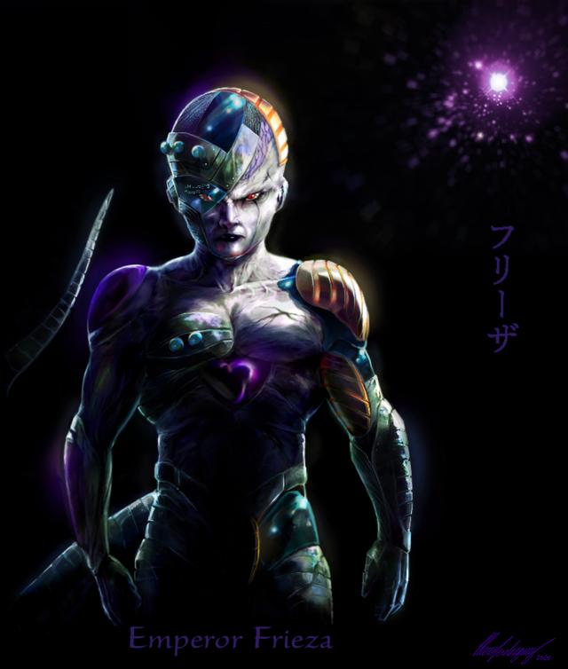 Dragon Ball: Hết hồn khi thấy ác nhân Frieza được vẽ theo phong cách kinh dị dọa nạt người xem - Ảnh 6.