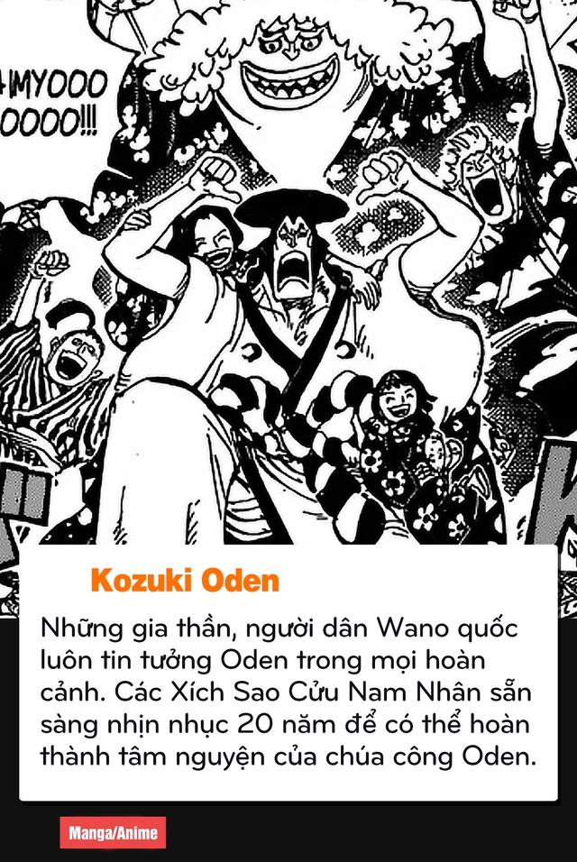 """Oden với Luffy, những điểm tương đồng của 2 """"Thánh Trẩu"""" nhất One Piece - Ảnh 10."""