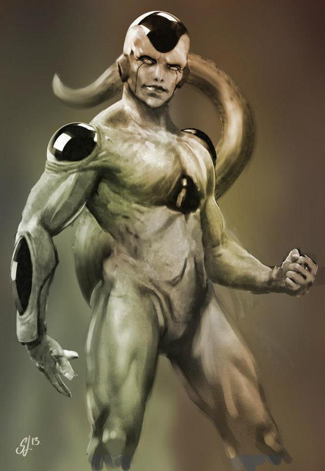 Dragon Ball: Hết hồn khi thấy ác nhân Frieza được vẽ theo phong cách kinh dị dọa nạt người xem - Ảnh 8.