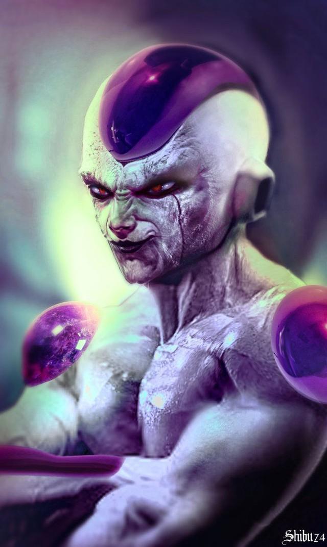 Dragon Ball: Hết hồn khi thấy ác nhân Frieza được vẽ theo phong cách kinh dị dọa nạt người xem - Ảnh 13.