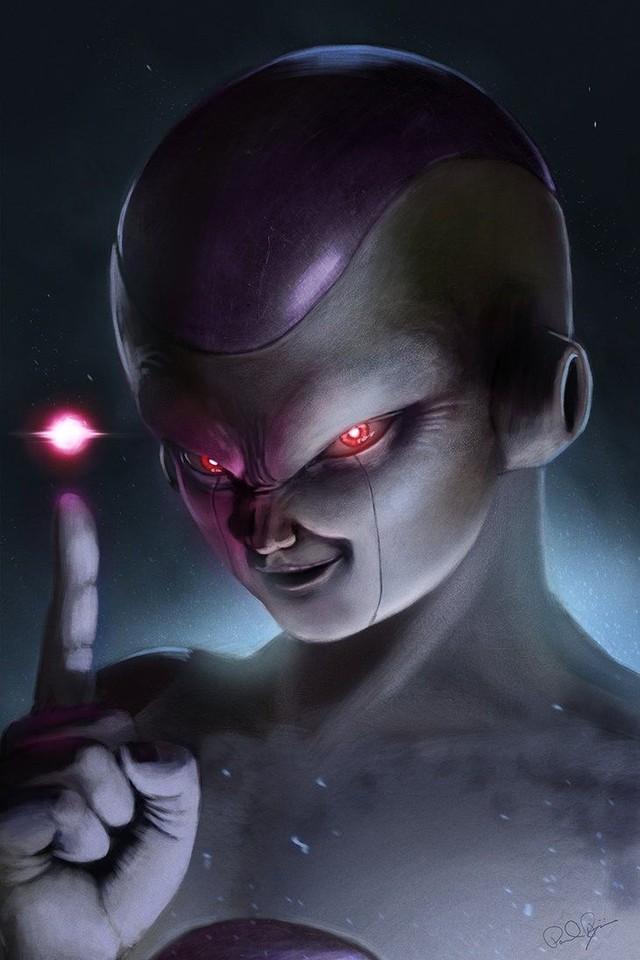 Dragon Ball: Hết hồn khi thấy ác nhân Frieza được vẽ theo phong cách kinh dị dọa nạt người xem - Ảnh 14.
