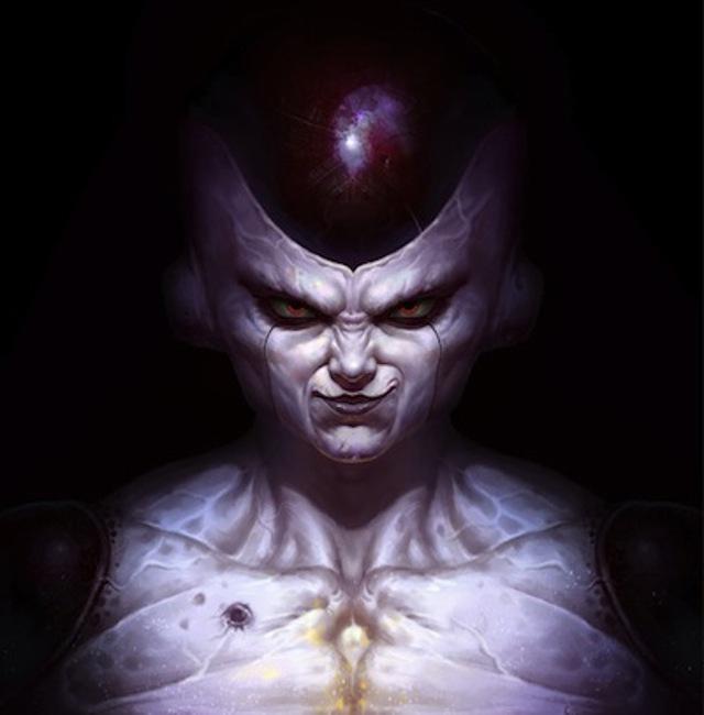 Dragon Ball: Hết hồn khi thấy ác nhân Frieza được vẽ theo phong cách kinh dị dọa nạt người xem - Ảnh 15.