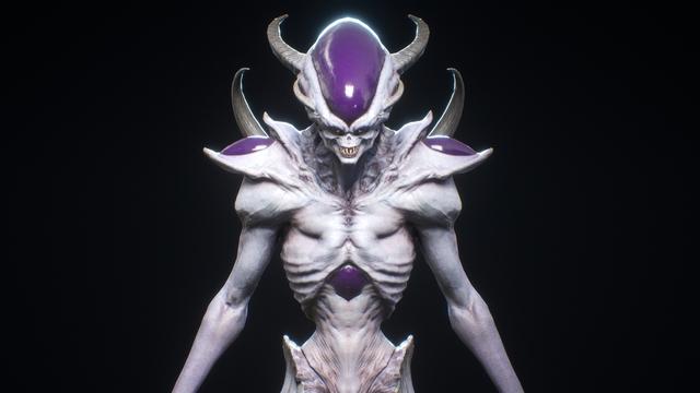 Dragon Ball: Hết hồn khi thấy ác nhân Frieza được vẽ theo phong cách kinh dị dọa nạt người xem - Ảnh 17.