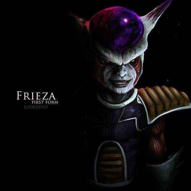 Dragon Ball: Hết hồn khi thấy ác nhân Frieza được vẽ theo phong cách kinh dị dọa nạt người xem - Ảnh 18.