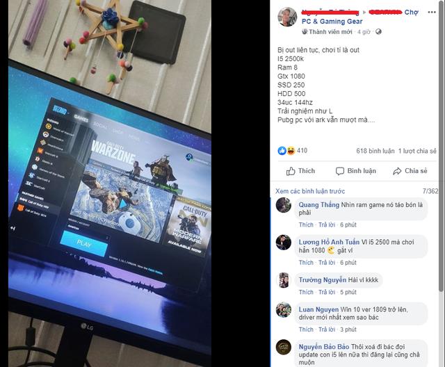 """Build card màn hình gần 20 triệu với PC """"đời Tống"""", nam game thủ bị ném đá dữ dội - Ảnh 1."""