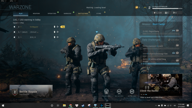 Anh em cảm thấy thế nào về Call of Duty: Warzone, tựa game sinh tồn miễn phí mới toanh vừa ra mắt? - Ảnh 3.