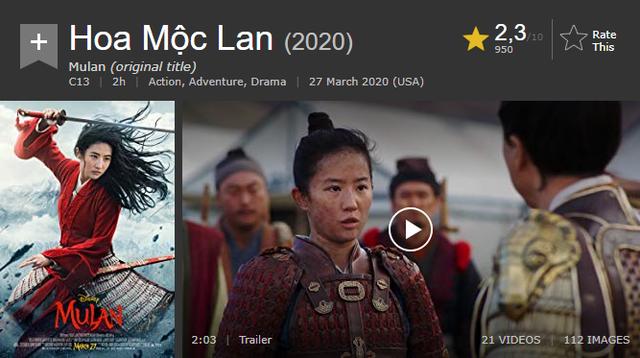 Bị vùi dập đến thảm hại, vì cớ gì mà Mulan live action lại trở thành 1 tác phẩm thất bại? - Ảnh 1.