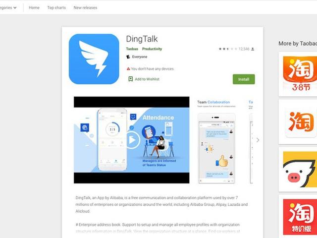 DingTalk là ứng dụng gì mà khiến giới trẻ Trung Quốc đua nhau đánh giá 1 sao trên các app store? - Ảnh 2.