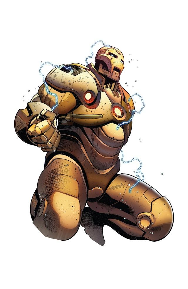 Top 10 bộ giáp siêu bá đạo nhất, ngầu nhất của các Iron Man trong Đa Vũ Trụ (P.2) - Ảnh 2.