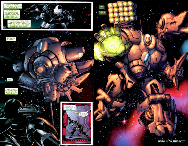 Top 10 bộ giáp siêu bá đạo nhất, ngầu nhất của các Iron Man trong Đa Vũ Trụ (P.2) - Ảnh 7.
