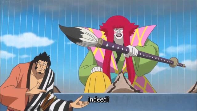 One Piece: Shinobu liệu có còn sống hay đó chỉ là màn kịch hoàn hảo do Kanjuro dựng nên để đánh lừa nhóm Cửu Hồng Bao? - Ảnh 3.