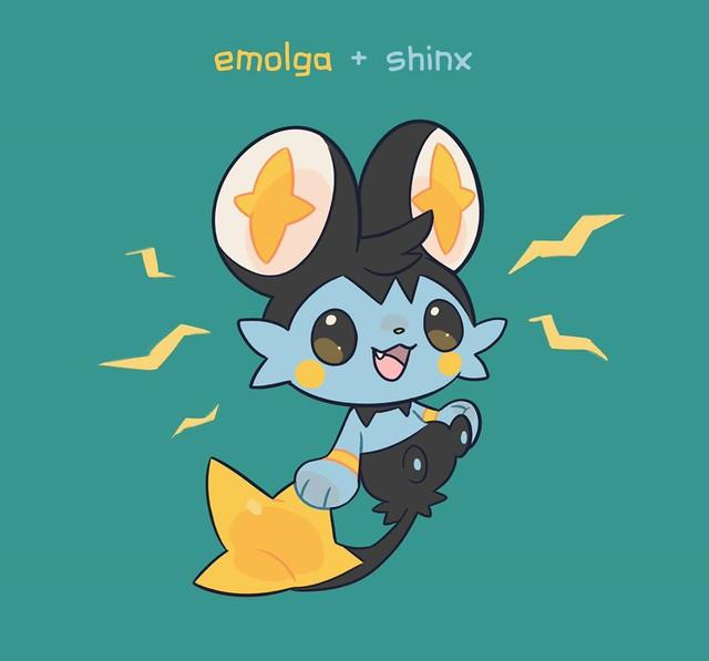 Mãn nhãn khi ngắm bộ ảnh hợp thể của các Pokemon, đẹp quên sầu luôn - Ảnh 7.