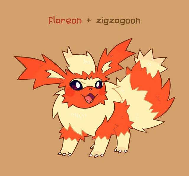 Mãn nhãn khi ngắm bộ ảnh hợp thể của các Pokemon, đẹp quên sầu luôn - Ảnh 32.