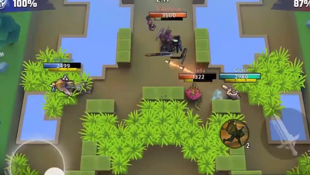 Vainglory All Stars - game chiến thuật lấy cảm hứng từ Brawl Stars (Supercell) sắp ra mắt - Ảnh 2.