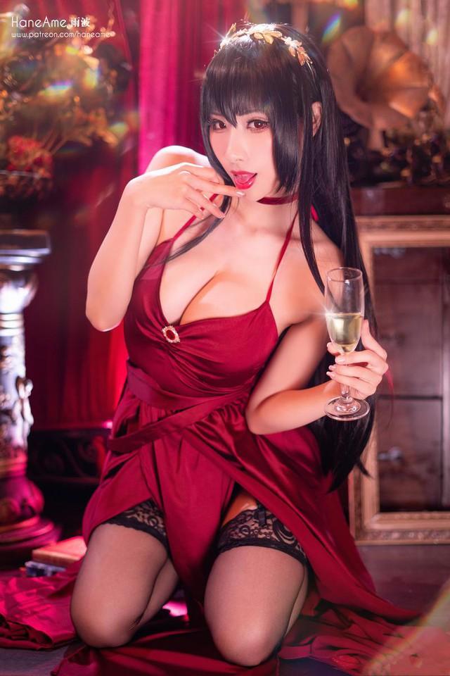 Lịm tim khi ngắm ảnh cosplay nàng waifu nổi tiếng trong tựa game mobile Azur Lane - Ảnh 7.