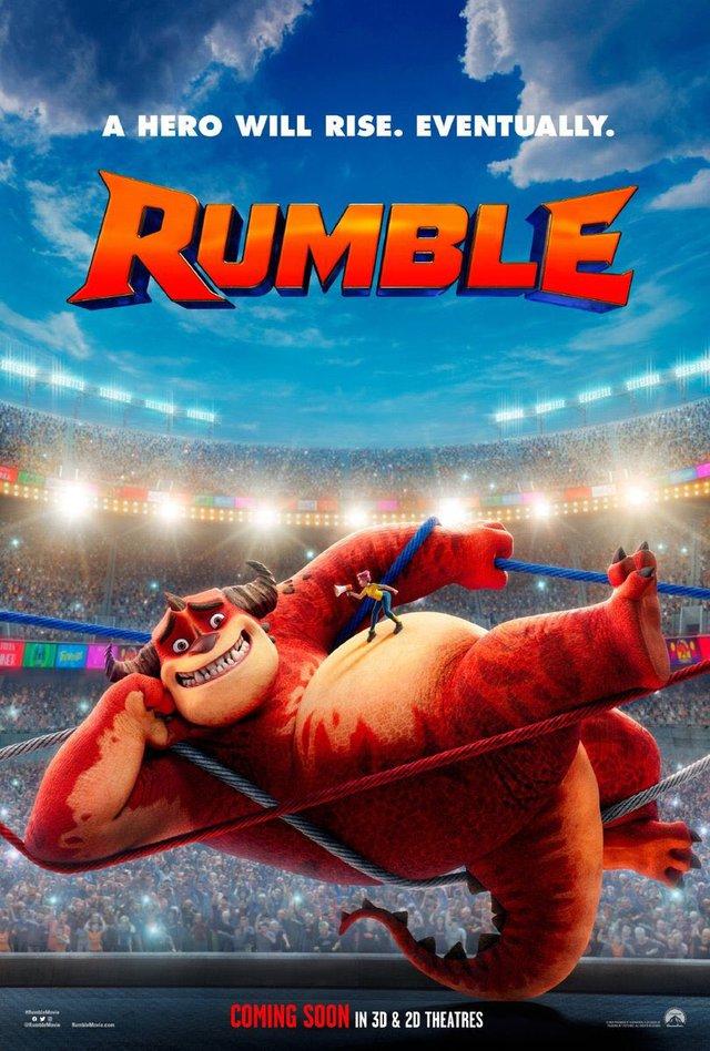 Rumble - Siêu phẩm hoạt hình Tết 2021 tung trailer, quái vật hóa đô vật so tài đầy hấp dẫn - Ảnh 5.