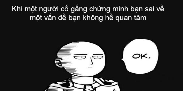 One Punch Man: Cười sái quai hàm với loạt meme về thánh 'phồng tôm' Saitama - Ảnh 1.