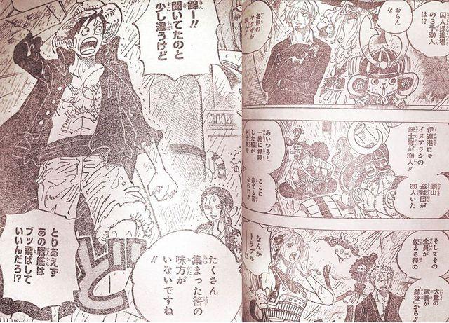 One Piece Chapter 975: Denjiro mang 1.200 Samurai tinh nhuệ hội quân, Luffy cùng 5.400 anh em tiến đánh Kaido - Ảnh 1.