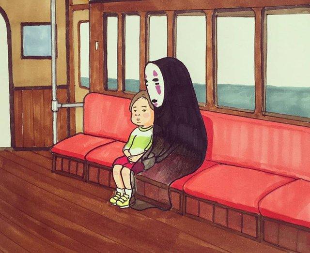 Đục khoét tuổi thơ: Hô biến nhân vật hoạt hình Ghibli thành phiên bản béo ú, mắt híp - Ảnh 4.