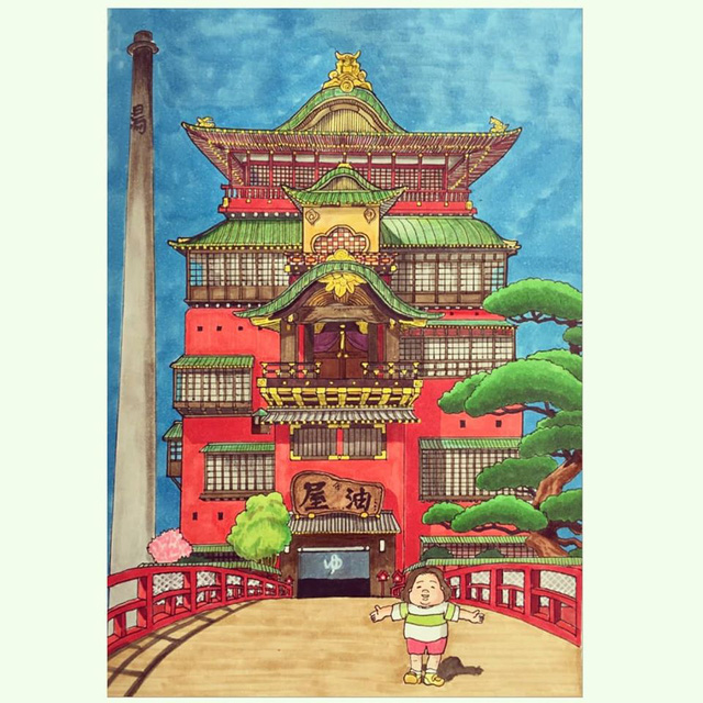 Đục khoét tuổi thơ: Hô biến nhân vật hoạt hình Ghibli thành phiên bản béo ú, mắt híp - Ảnh 8.