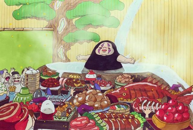 Đục khoét tuổi thơ: Hô biến nhân vật hoạt hình Ghibli thành phiên bản béo ú, mắt híp - Ảnh 10.