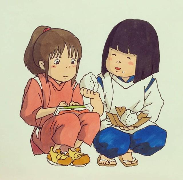 Đục khoét tuổi thơ: Hô biến nhân vật hoạt hình Ghibli thành phiên bản béo ú, mắt híp - Ảnh 11.