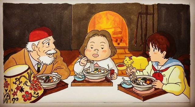 Đục khoét tuổi thơ: Hô biến nhân vật hoạt hình Ghibli thành phiên bản béo ú, mắt híp - Ảnh 12.