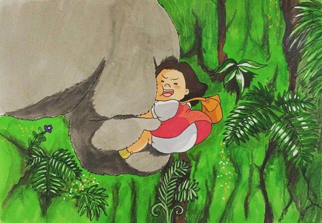 Đục khoét tuổi thơ: Hô biến nhân vật hoạt hình Ghibli thành phiên bản béo ú, mắt híp - Ảnh 13.