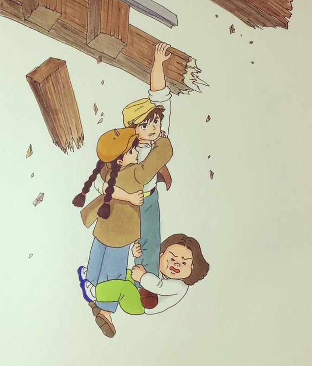 Đục khoét tuổi thơ: Hô biến nhân vật hoạt hình Ghibli thành phiên bản béo ú, mắt híp - Ảnh 19.