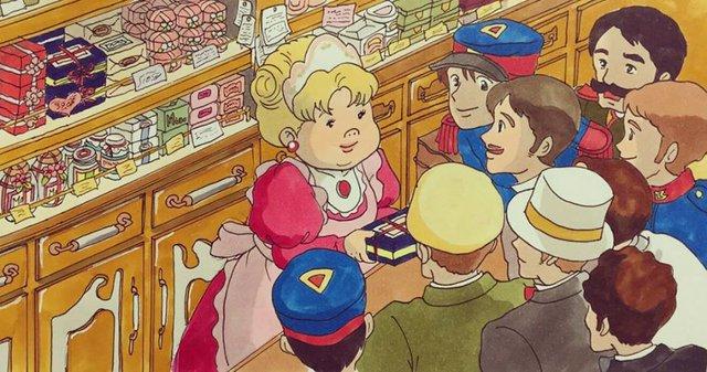Đục khoét tuổi thơ: Hô biến nhân vật hoạt hình Ghibli thành phiên bản béo ú, mắt híp - Ảnh 22.