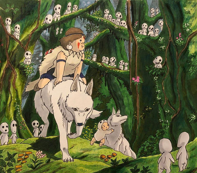 Đục khoét tuổi thơ: Hô biến nhân vật hoạt hình Ghibli thành phiên bản béo ú, mắt híp - Ảnh 29.