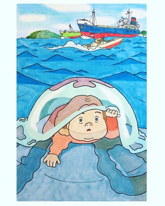 Đục khoét tuổi thơ: Hô biến nhân vật hoạt hình Ghibli thành phiên bản béo ú, mắt híp - Ảnh 30.