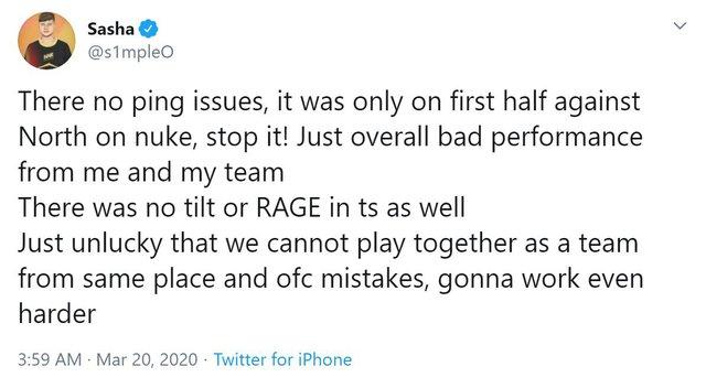 CS:GO: S1mple và đồng đội nói gì sau hai thất bại 0-2 liên tiếp tại ESL Pro League Season 11? - Ảnh 4.