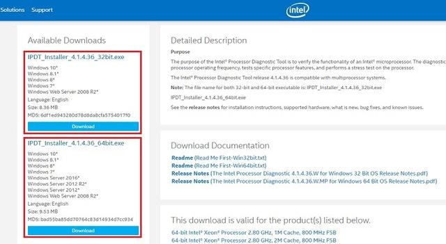 Hướng dẫn kiểm tra tình trạng sức khỏe cho CPU Intel bằng công cụ chính chủ - Ảnh 1.