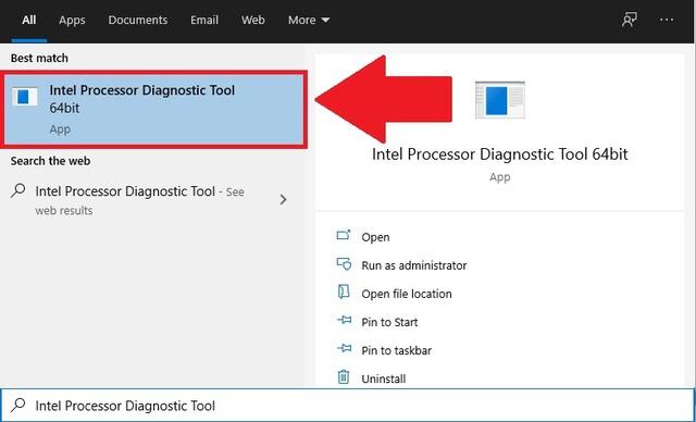 Hướng dẫn kiểm tra tình trạng sức khỏe cho CPU Intel bằng công cụ chính chủ - Ảnh 4.