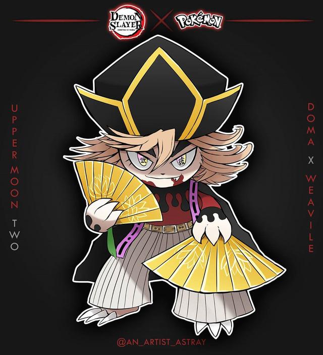 Loạt tranh vẽ Pokemon x Kimetsu no Yaiba cực ngầu được fan hâm mộ rần rần khen ngợi - Ảnh 4.