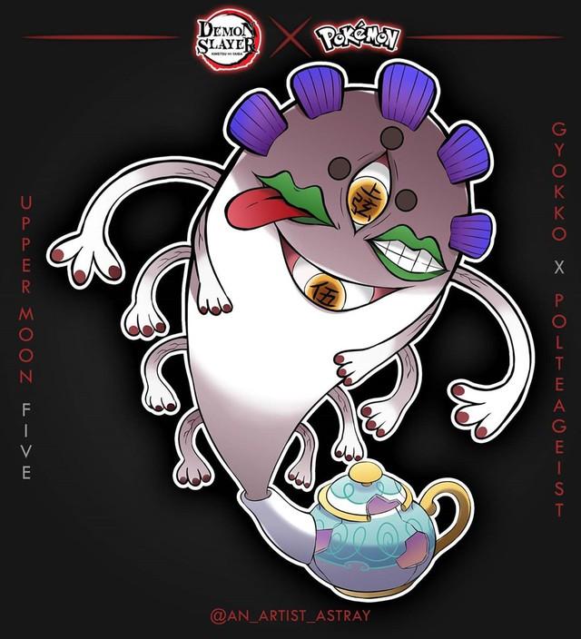 Loạt tranh vẽ Pokemon x Kimetsu no Yaiba cực ngầu được fan hâm mộ rần rần khen ngợi - Ảnh 8.