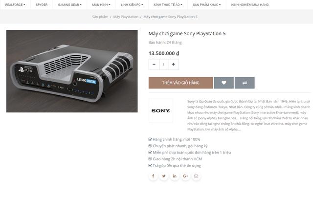 Sốc! Một nhà phân phối lớn tại Việt Nam giao bán PS5 giá 13,5 triệu đồng - Ảnh 1.