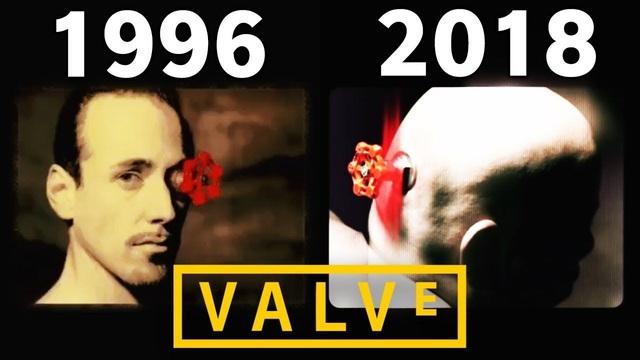 Logo mới của Valve trong Half life:Alyx khiến người chơi tưởng như đang xem phim kinh dị - Ảnh 2.
