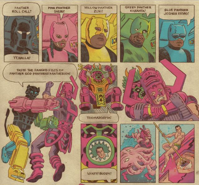 Marvel Comics: Quyết tâm bảo vệ mỏ Vibranium, Wakanda sẽ dùng robot Black Panther khổng lồ để đánh đuổi ngoại bang - Ảnh 5.