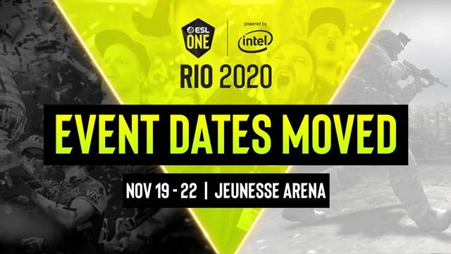 Major ESL One Rio chính thức lùi lại tới tháng 11, năm 2020 chỉ còn một Major CS:GO duy nhất - Ảnh 2.