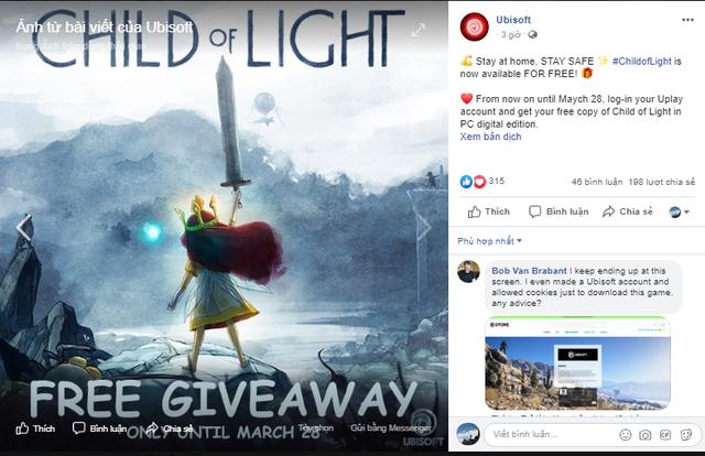 Chỉ 1 click, nhận miễn phí vĩnh viễn game nhập vai cực đỉnh - Child of Light - Ảnh 1.