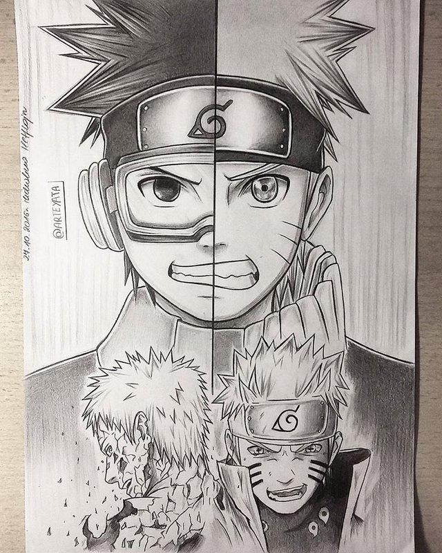 Loạt fan art Naruto toát lên vẻ ma mị đầy cuốn hút khiến người xem không thể rời mắt - Ảnh 8.