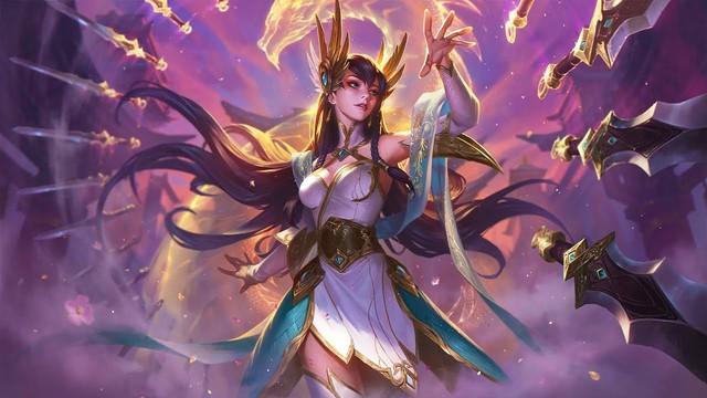 LMHT: Choáng váng vì vẻ đẹp tựa thần tiên tỉ tỉ trong bộ cosplay Irelia Tiên Kiếm của nữ game thủ Trung Quốc - Ảnh 1.
