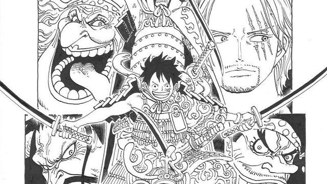 Shanks và Blackbeard luôn xuất hiện cùng nhau trên trang bìa One Piece, dấu hiệu đáng ngờ cho thấy Oda đang có ý đồ - Ảnh 1.