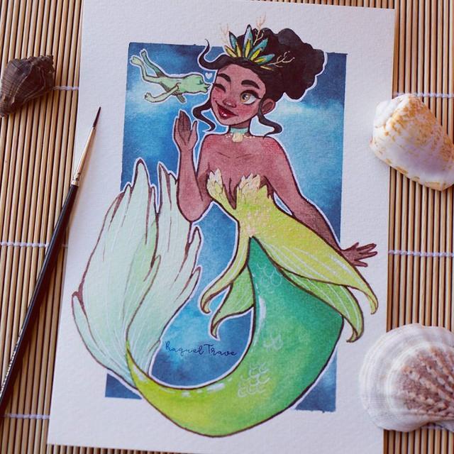 Các nàng công chúa Disney hóa thân thành nàng tiên cá, ai mới là người xinh đẹp nhất? - Ảnh 7.