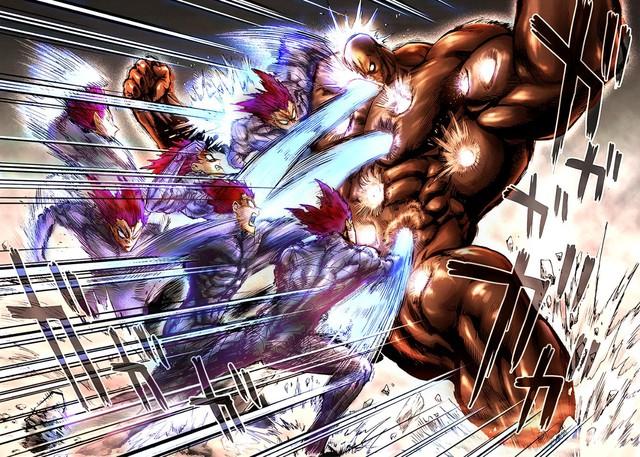 One Punch Man: Thân thế anh hùng Đen Bóng được hé lộ, lý do đầu trọc và làn da đen bóng là do thói quen - Ảnh 1.